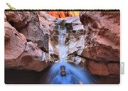 Adam Jewell At Capitol Reef Shower And Laundromat Carry-all Pouch by Adam Jewell