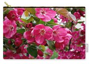 Adams Crabapple Blossoms Carry-all Pouch