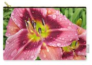 Addie Branch Smith Daylily Drops Carry-all Pouch