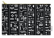 Adinkraglyphics Carry-all Pouch
