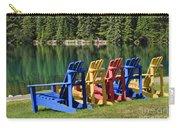 Adirondacks At Jasper Lodge Carry-all Pouch