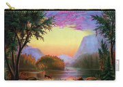 Adirondacks Sunset Carry-all Pouch