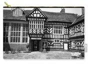 Adlington Hall Courtyard Bw Carry-all Pouch