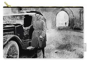 Adolf Hitler Shortly After His Release From Prison With A Mercedes 1924 - 2012 Carry-all Pouch