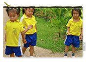 Adorable Sweethearts Welcoming Committee At Baan Konn Soong School In Sukhothai-thailand Carry-all Pouch