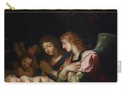 Adoration Of The Angels Carry-all Pouch