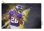 Adrian Peterson Carry-all Pouch by Don Medina
