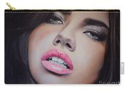 Adriana Lima Oil On Canvas Carry-all Pouch