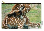 Adult Reticulated Giraffe Carry-all Pouch
