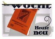 Advert For Die Woche Carry-all Pouch