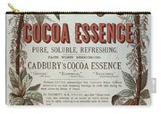 Advertisement For Cadburs Cocoa Essence From The Graphic Carry-all Pouch