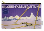 Advertisement For Skiing In Austria Carry-all Pouch