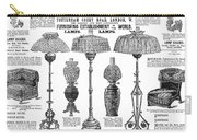 Advertisement Lamps, 1890 Carry-all Pouch