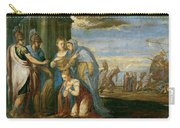 Aeneas Taking Leave Of Dido Carry-all Pouch