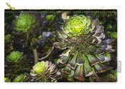 Aeonium Glow Carry-all Pouch