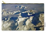 Aerial Ice Fields Carry-all Pouch