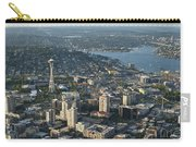 Aerial Image Of The Seattle Skyline  Carry-all Pouch