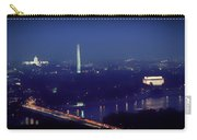 Aerial Night View Of Washington Dc Carry-all Pouch