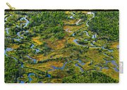 Aerial Of A Wetland, Over Northern Carry-all Pouch