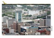 Aerial Of Downtown Wichita Carry-all Pouch
