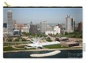 Aerial Of Milwaukee Skyline Carry-all Pouch