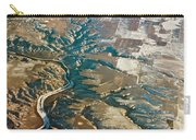 Aerial Of Rocky Mountains Over Montana State Carry-all Pouch