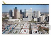 Aerial Of The Houston Skyline Carry-all Pouch