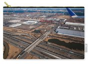 Aerial Over Newark Carry-all Pouch