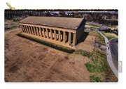 Aerial Photography Of The Parthenon Carry-all Pouch