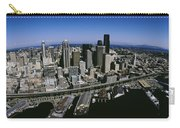 Aerial View Of A City, Seattle Carry-all Pouch