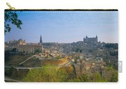 Aerial View Of A City, Toledo, Spain Carry-all Pouch
