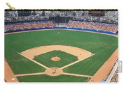 Aerial View Of A Stadium, Dodger Carry-all Pouch