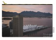 Aerial View Of Canada Place At Sunse Carry-all Pouch