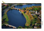 Aerial View Of Charles River With Views Carry-all Pouch