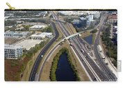 Aerial View Of City Of Tampa Carry-all Pouch