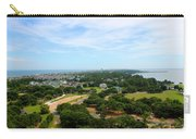 Aerial View Of Corolla North Carolina Outer Banks Obx Carry-all Pouch by Design Turnpike
