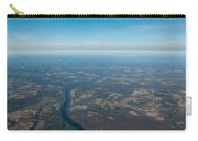 Aerial View Of Earth In Usa Carry-all Pouch