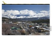 Aerial View Of Historic Downtown Truckee California Carry-all Pouch