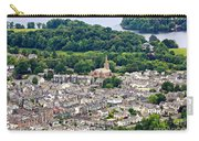 Aerial View Of Keswick In The Lake District Cumbria Carry-all Pouch