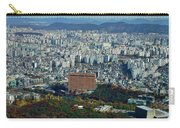 Aerial View Of Seoul South Korea Carry-all Pouch