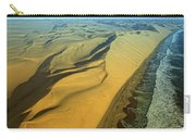 Aerial View Of Skelton Coast, Namib Carry-all Pouch