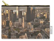 Aerial View Of The Seattle Skyline With Stadiums Carry-all Pouch