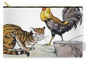 Aesop: Cat, Cock, And Mouse Carry-all Pouch
