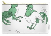 Aesop: Cocks Fighting Carry-all Pouch