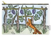 Aesop The Fox & The Grapes Carry-all Pouch