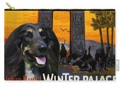 Afghan Hound Art - Luxor Poster Carry-all Pouch