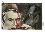 Afghan Hound Art - Rear Window Movie Poster Carry-all Pouch