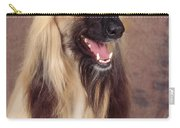 Afghan Hound Dog, Portrait Carry-all Pouch