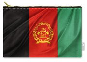 Afghanistan Flag Carry-all Pouch by Les Cunliffe