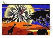 Africa At Sunset  Carry-all Pouch